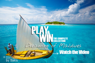 Now Closed. Play and Win ! Guess the Resorts in our Maldives Video and Win the complete Dreaming of Maldives Collection