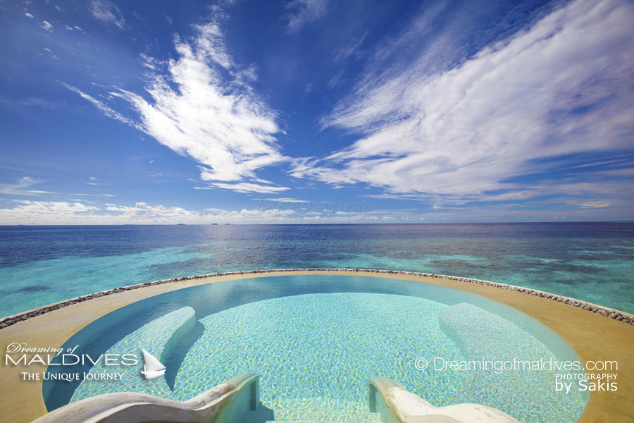 10 Amazing and Dreamy Places in Maldives. The Salted Pool LONU VEYO at Per Aquum Huvafen Fushi