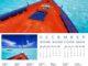 2017 Wall Calendar Maldives Islands