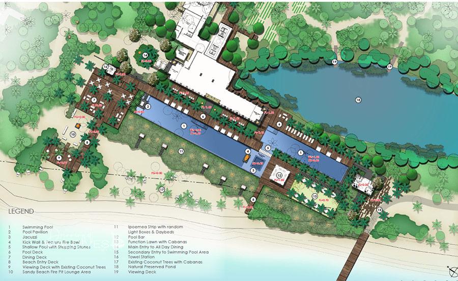Pullman Maldives Maamutaa Resort Map
