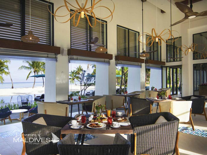 Pullman Maldives Maamutaa Resort OPENING - restaurant