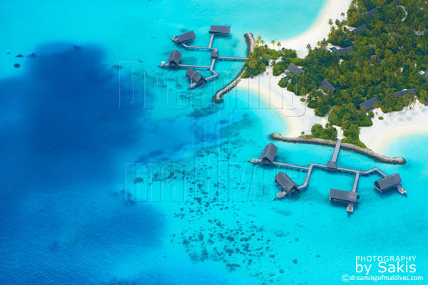 one and only reethi rah maldives aerial view photo gallery