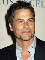 In which Maldives resort is Rob Lowe ?