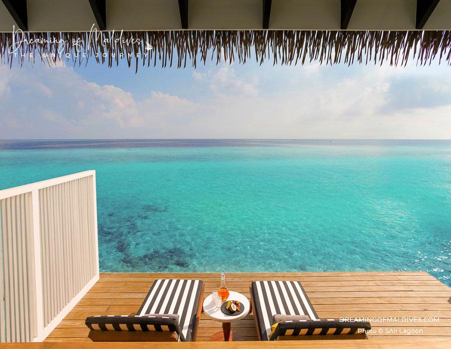 SAii Lagoon Maldives Overwater villa with Lagoon views best Room 2 Bedroom Overwater Pool Villa