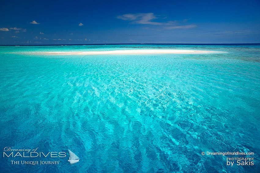photos of various sandbanks in maldives