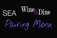 Sea Pairing Menu Wine & Dine