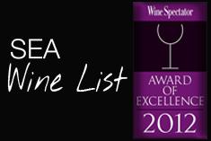 Sea Wine List