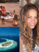 SHAKIRA Maldives GERARD PIQUÉ IN MALDIVES FAMILY HOLIDAY