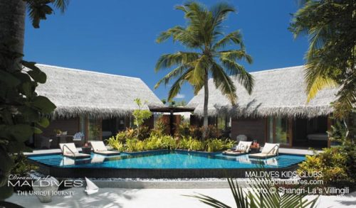 Family Villa at Shangri-La's Villingili MAldives