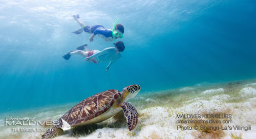 Shangri-La's Villingili Maldives Kids Activities