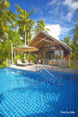 Shangri La's Villingili Maldives Pool Villa