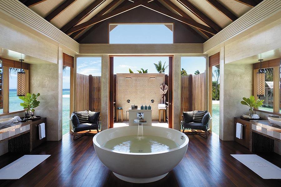 Shangri La Villingili Maldives Villa Muthee - The Bathrom