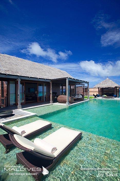 Shangri La Villingili Maldives Villa Muthee - Infinite Pool