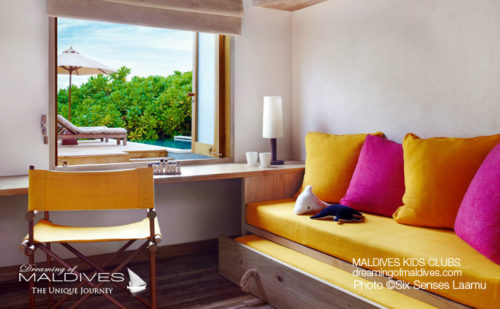 Six Senses Laamu Family Villa Kid Room