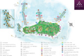 Six Senses Laamu Resort Map Updated