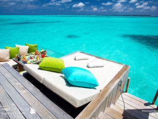 Six Senses Laamu Water Villa. Best Maldives Water Villa