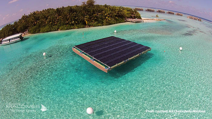 Gili Lankanfushi plugs in the largest floating solar panel in the Maldives