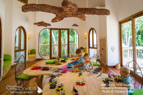 Indoor Kids Activities - Soneva Fushi