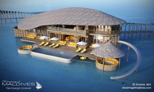 Soneva Jani 3 bedroom Water Villa (Soneva Resorts & Residences will open a New Resort in Noonu Atoll, Maldives)