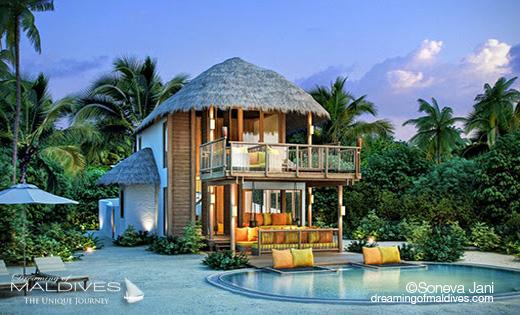 Soneva Jani Beach Villa 1 Bedroom Villa