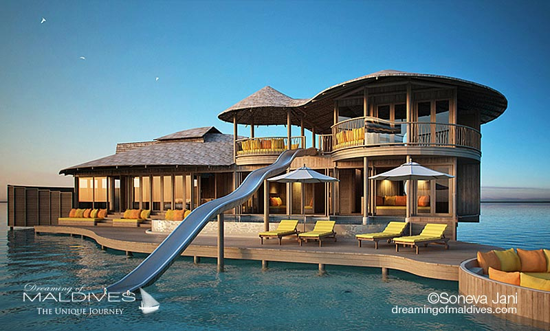 Soneva opens a new resort in Maldives Soneva Jani, scheduled for 2016-2017