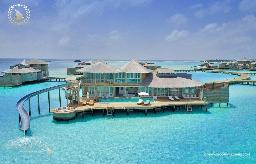 TOP 10 Hôtel de Rêve des Maldives 2018.  Soneva Jani #3