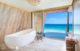 beautiful Bathroom with Ocean view at St Regis Vommuli