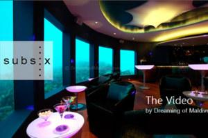 The First Video of Subsix Underwater Nightclub at Niyama Maldives