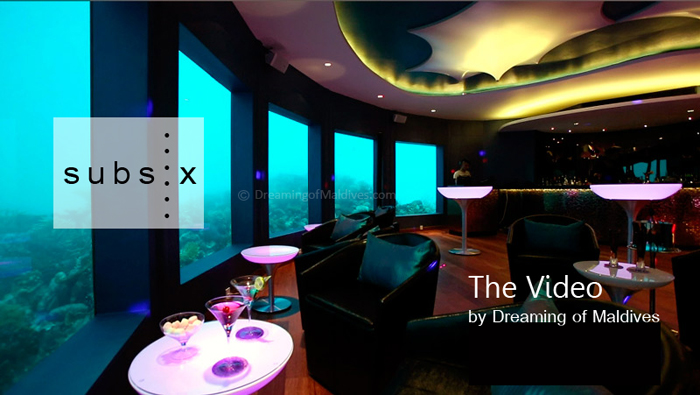 Video Subsix Underwater Nightclub at Niyama Maldives