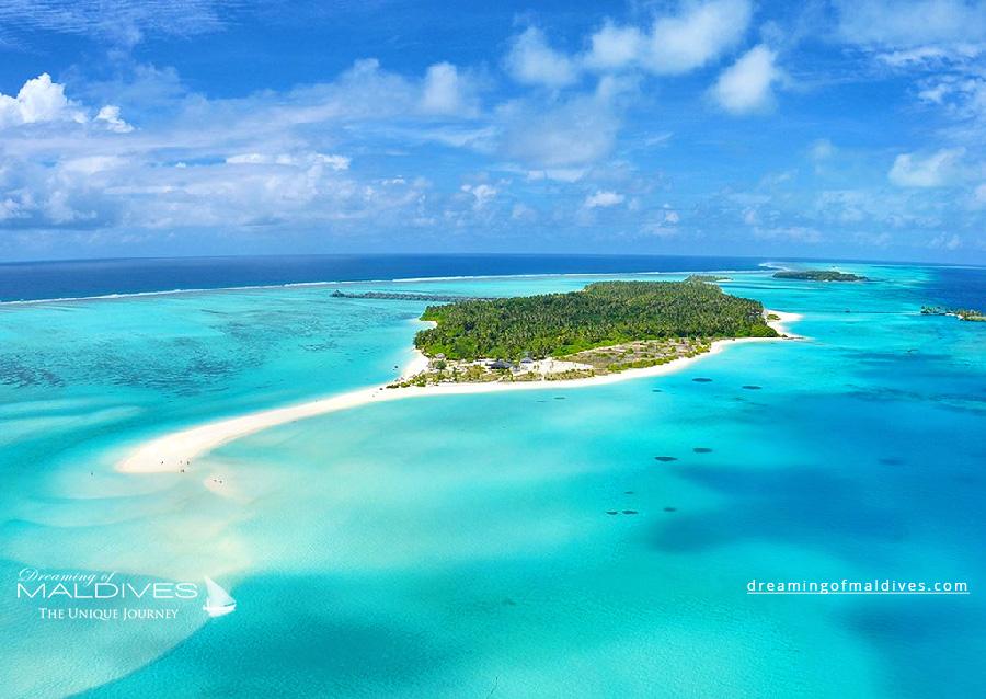 Sun Island Resort Aerial Photo