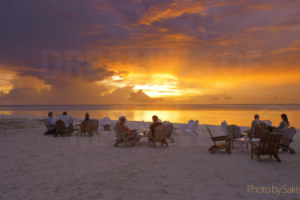 Photo of the Day…At the time of sunset in Maldives