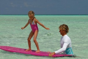 Surf School at Four Seasons Kuda Huraa Maldives Kids Club