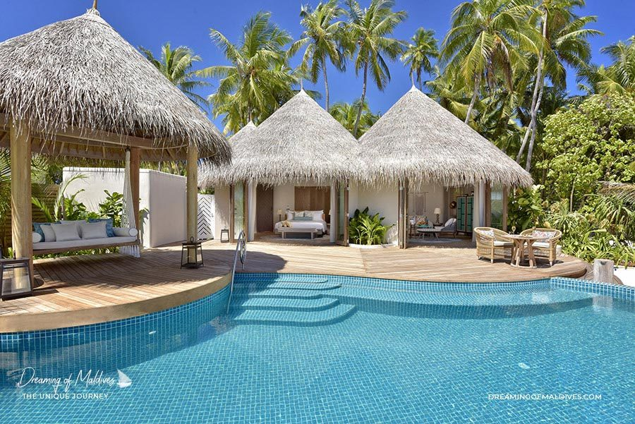 The Nautilus Maldives Beach House with Pool