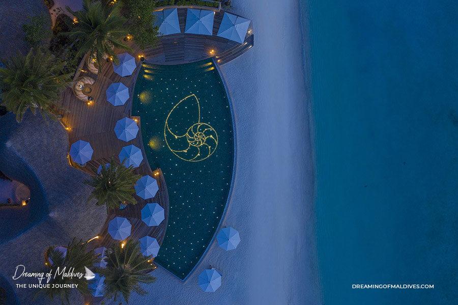 The Nautilus Maldives Main Pool