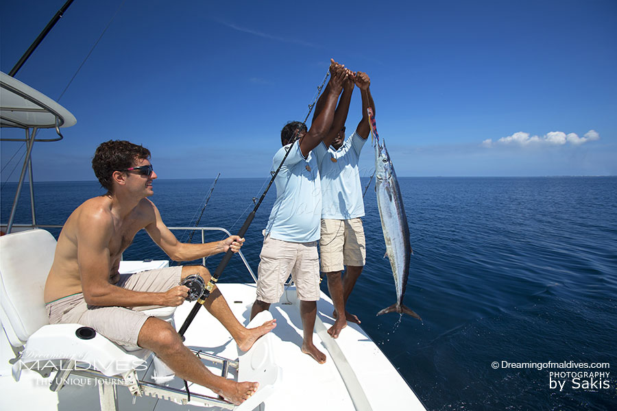 Things To Do In Maldives. Go Big Game Fishing