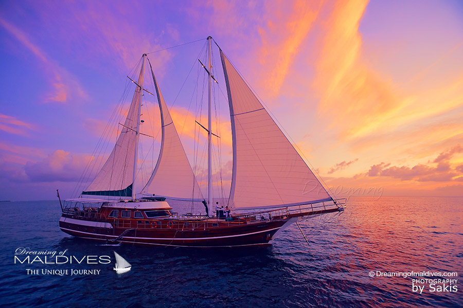 Things To Do In Maldives. Go on a Sailing Cruise