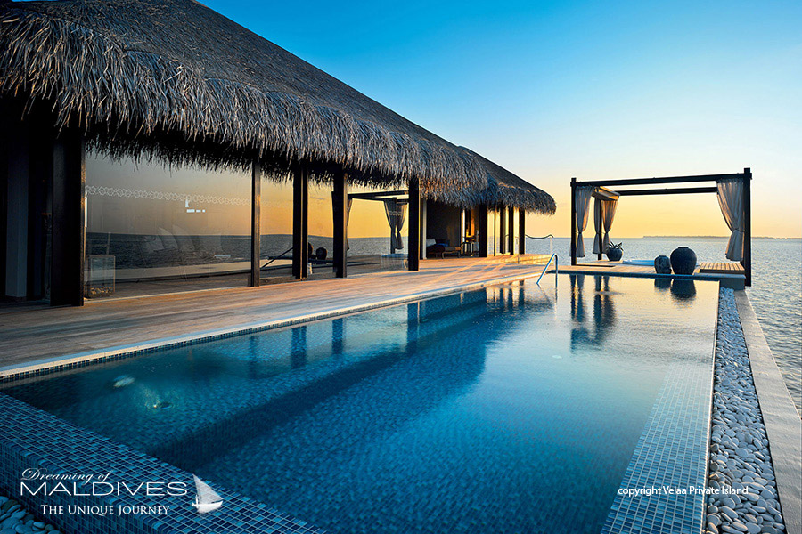 Things To Do In Maldives. Swim in an Infinity Pool by the Ocean