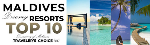 TOP 10 Maldives Dreamy Resorts 2017