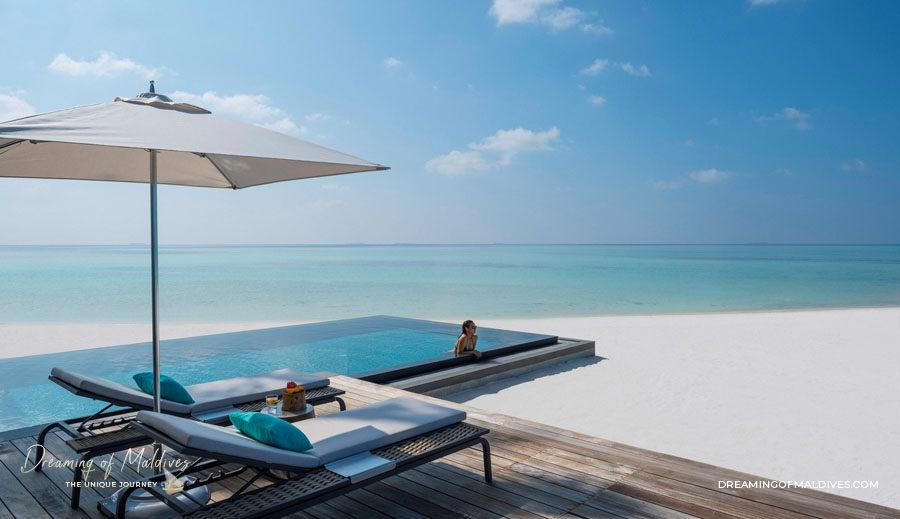 TOP 10 Hôtel de Rêve des Maldives 2018.  Four Seasons Maldives Private Island at Voavah Numéro 8