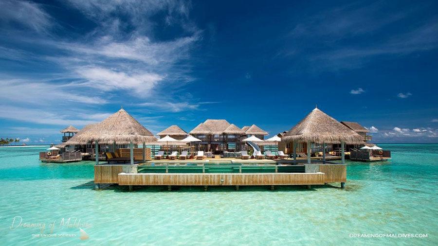 TOP 10 Hôtel de Rêve des Maldives 2018.  Gili Lankanfushi #2