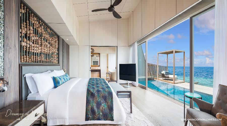TOP 10 Hôtel de Rêve des Maldives 2018.  St. Regis Maldives Vommuli Resort #4