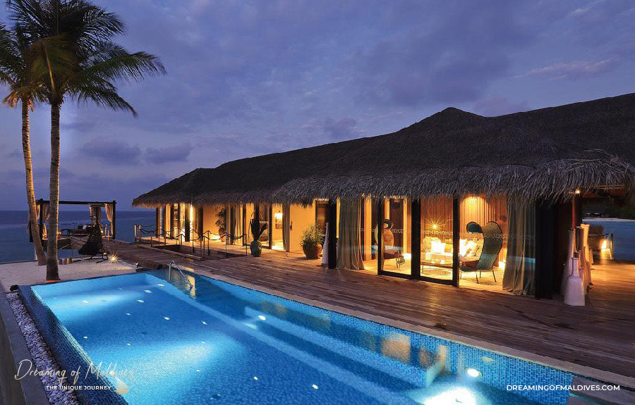TOP 10 Hôtel de Rêve des Maldives 2018.  Velaa Private Private Island