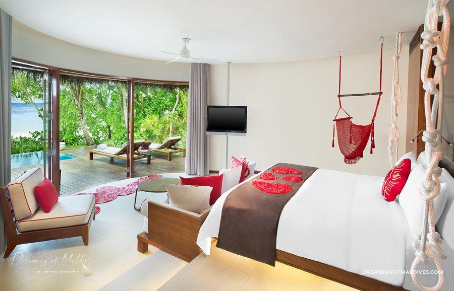 TOP 10 Hôtel de Rêve des Maldives 2018.  W Maldives #6