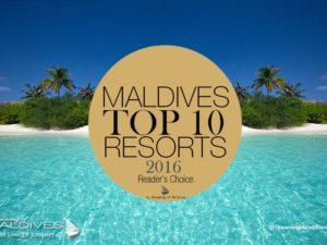 TOP 10 Maldives Resorts 2016