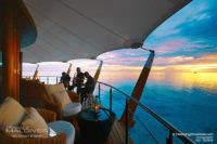 5 TOP Things To Do at Baros Maldives - Listen To Live Jazz Music at Sunset at The Lighthouse Lounge Bar