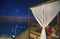 5 TOP Things To Do at Baros Maldives - Stargaze under the Moonlight on your Water Villa deck