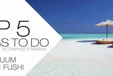 5 TOP Things To Do at Per Aquum Huvafen Fushi