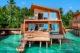 The St. Regis Maldives Vommuli Resort two-bedroom Overwater Villa with pool Exterior