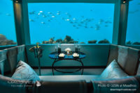 M6m underwater restaurant maldives at OZEN (A First Look at M6m, the amazing Underwater Restaurant at OZEN at Maadhoo)