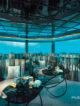 M6m underwater restaurant maldives at OZEN